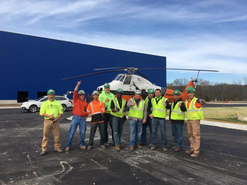 Previous. Ikea Oak Creek Utilizes J M  Brennan Skills to Helicopter Lift